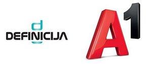 Definicija A1 logo | Garden Mall | Supernova