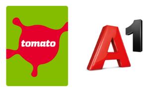 A1 & Tomato logo | Garden Mall | Supernova