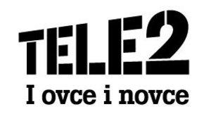 Tele2 logo | Garden Mall | Supernova