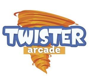 Twister Arcade logo | Garden Mall | Supernova
