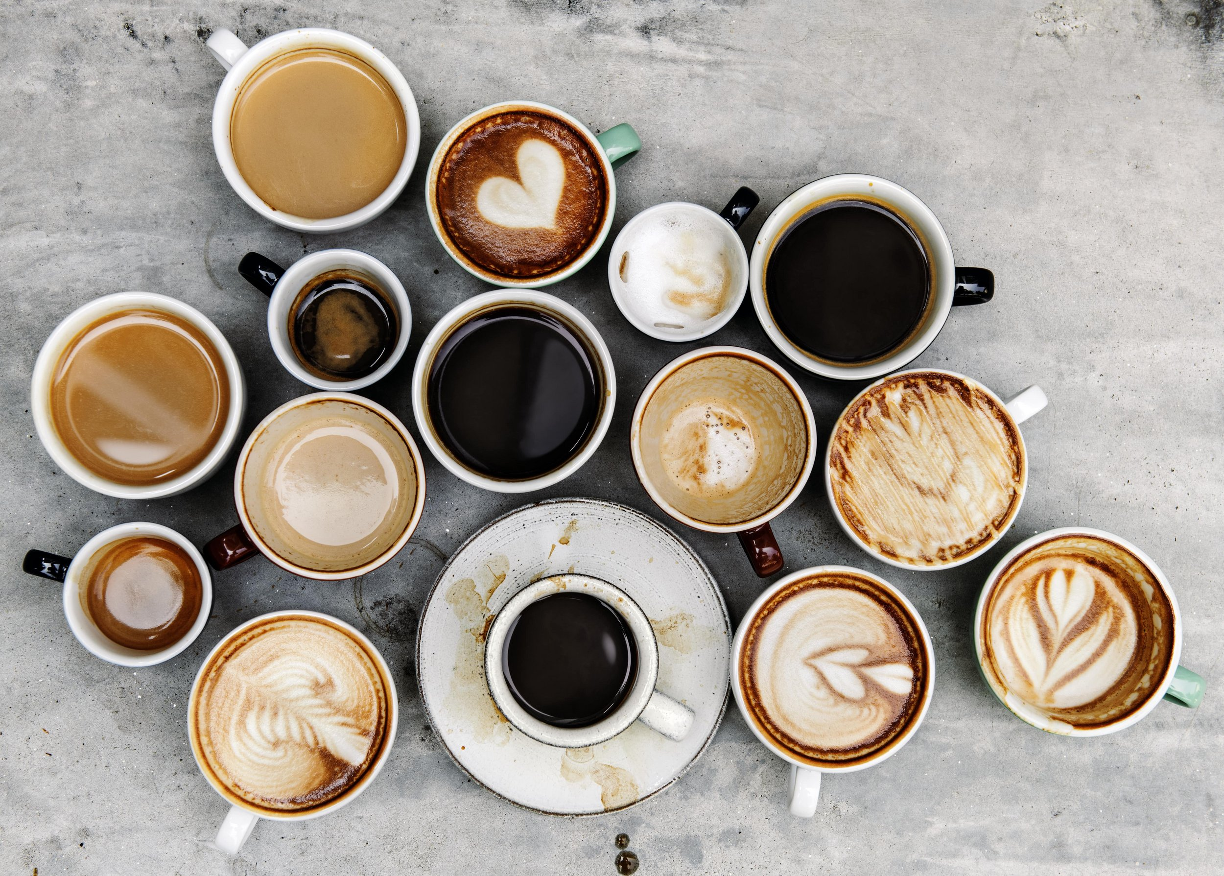 Coffee variations with love